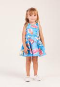 Vestido Infantil Menina na Bóia Mon Sucré