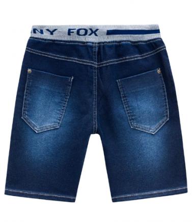 Bermuda em Malha Jeans com Elastano  Johnny Fox