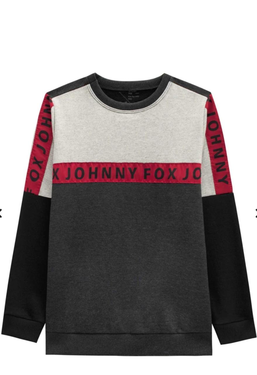 Blusa em Moletom Johnny Fox