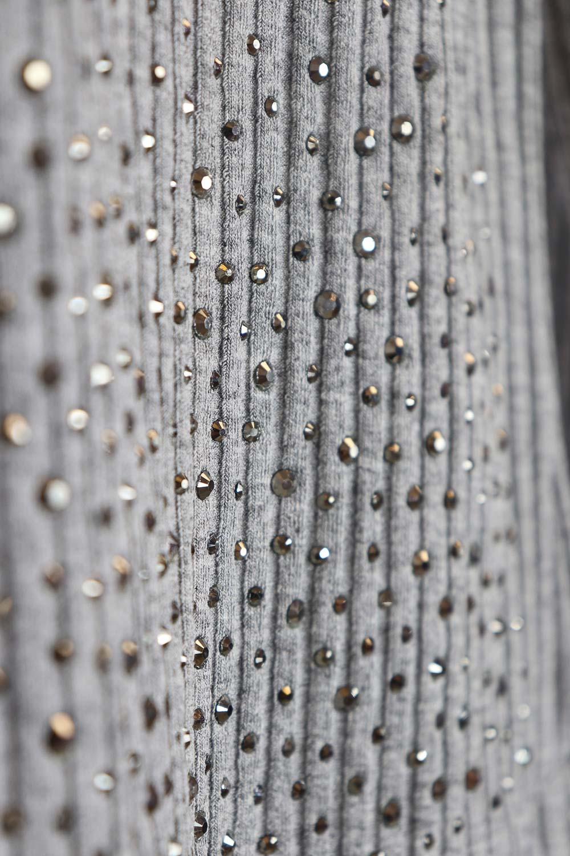 Blusa canelada cristais Pituchinhus