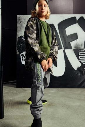 Calça Jogger em Nylon com Elastano jOHNNY fOX