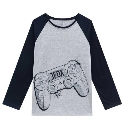 Conjunto de Pijama de Camiseta e Calça Jogger em Meia Malha  Johnny Fox