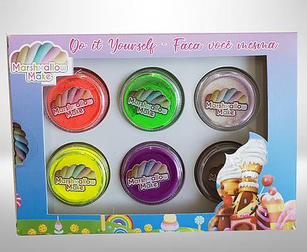 Kit Pigmento  Faça Você Mesma Make Marshmallow