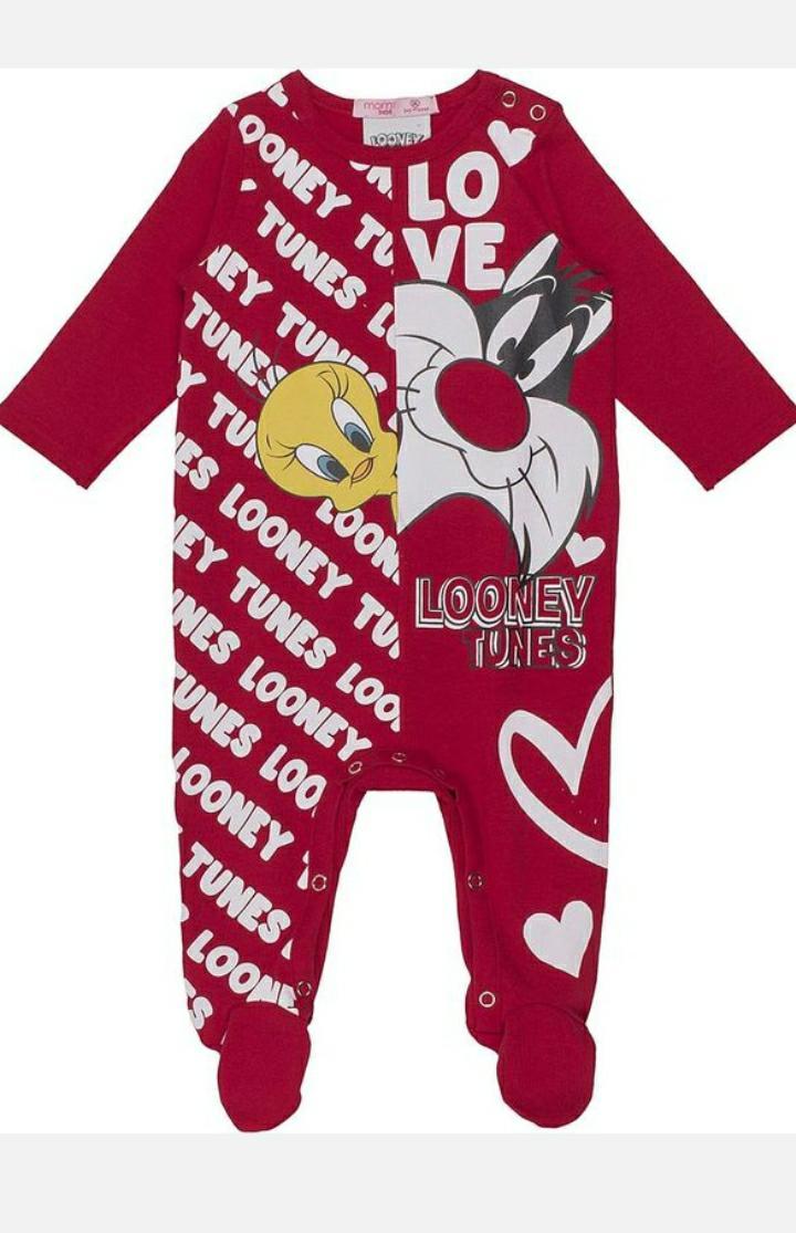 Macacão bebê looney tunes momi