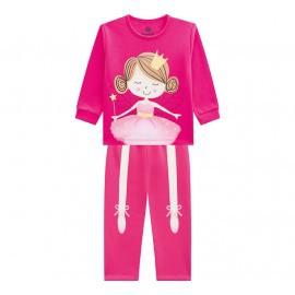 Pijama Bailarina Brilha no Escuro Brandili