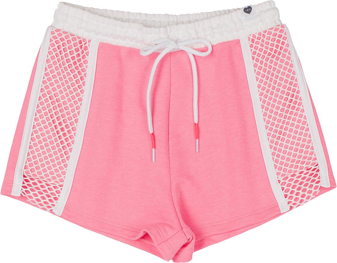 SHORT ROSA NEON MOLETOM AUTHORIA