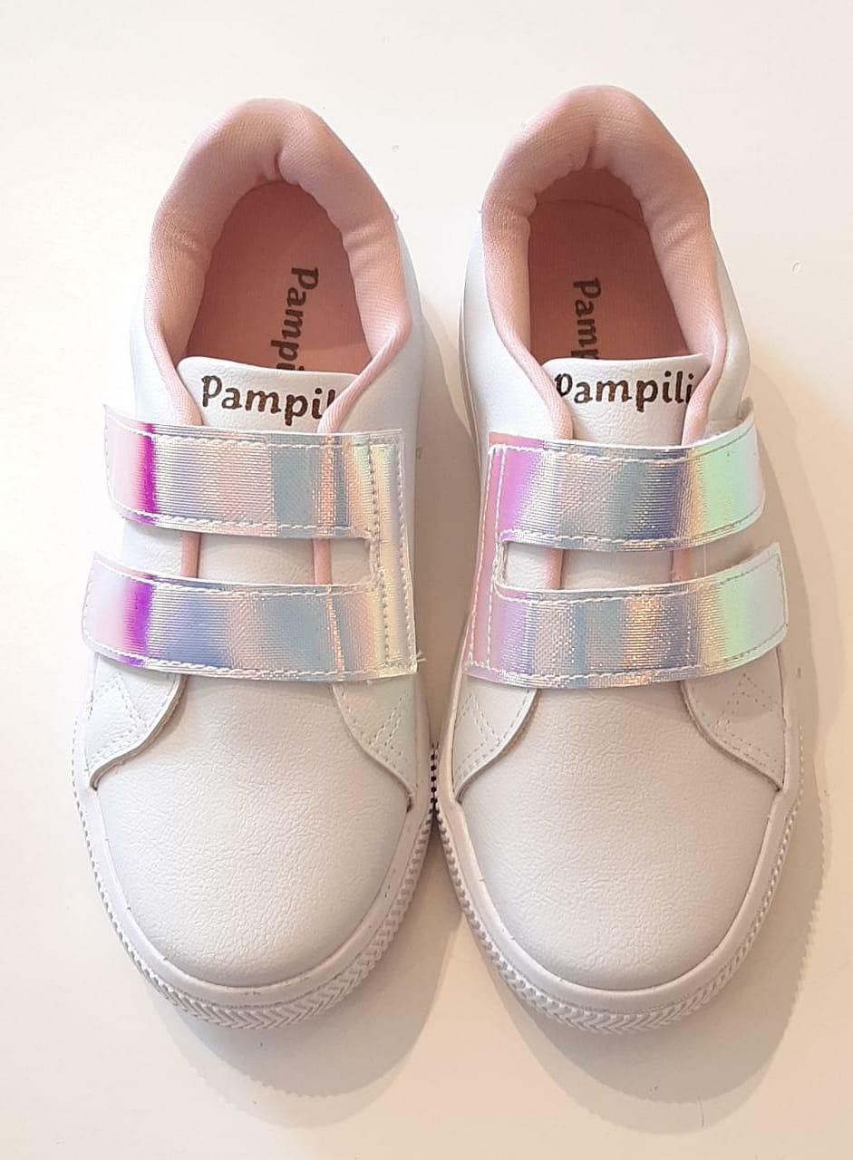 Tênis Infantil Feminino  By Pampili Branco