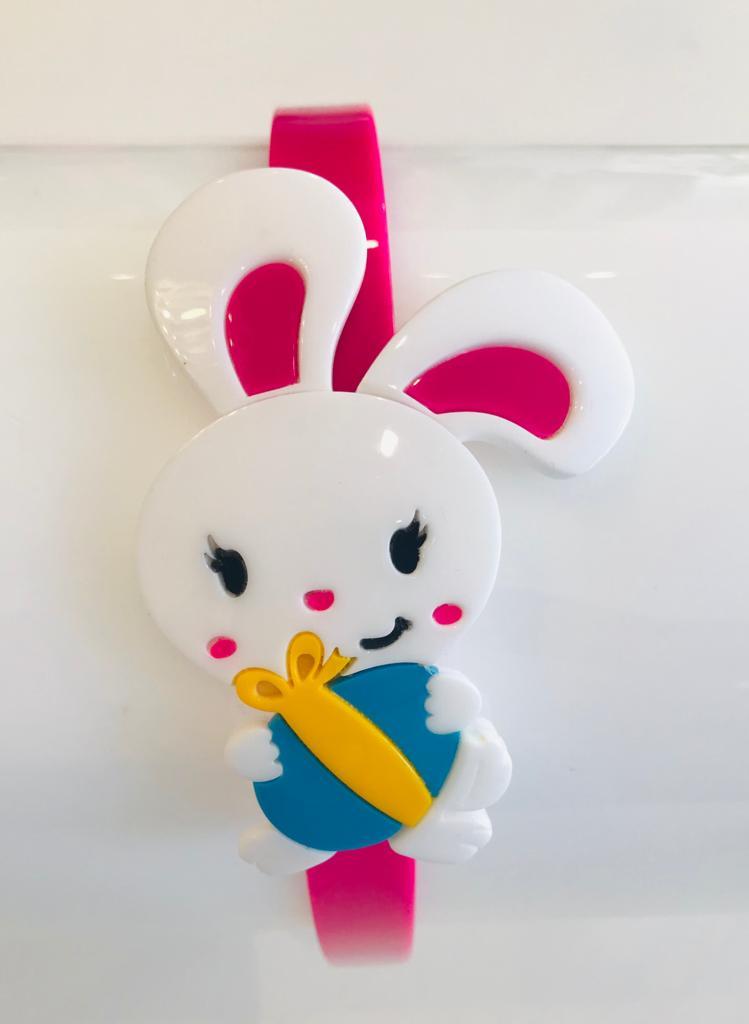 Tiara  Acrílico coelho