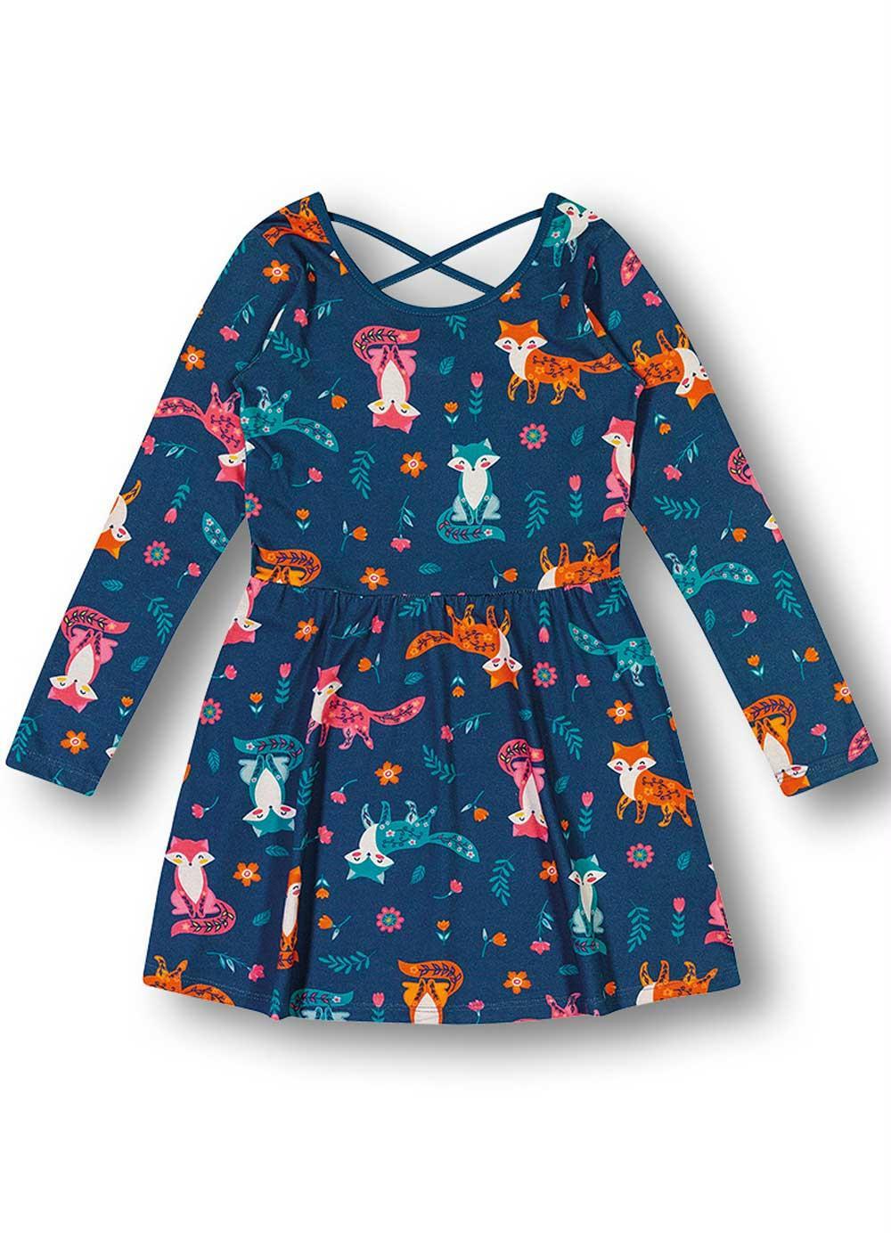 Vestido Estampa Raposa Marisol