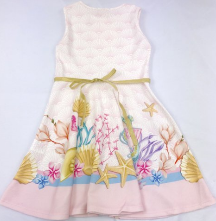 Vestido  Sereia Petit Cherie