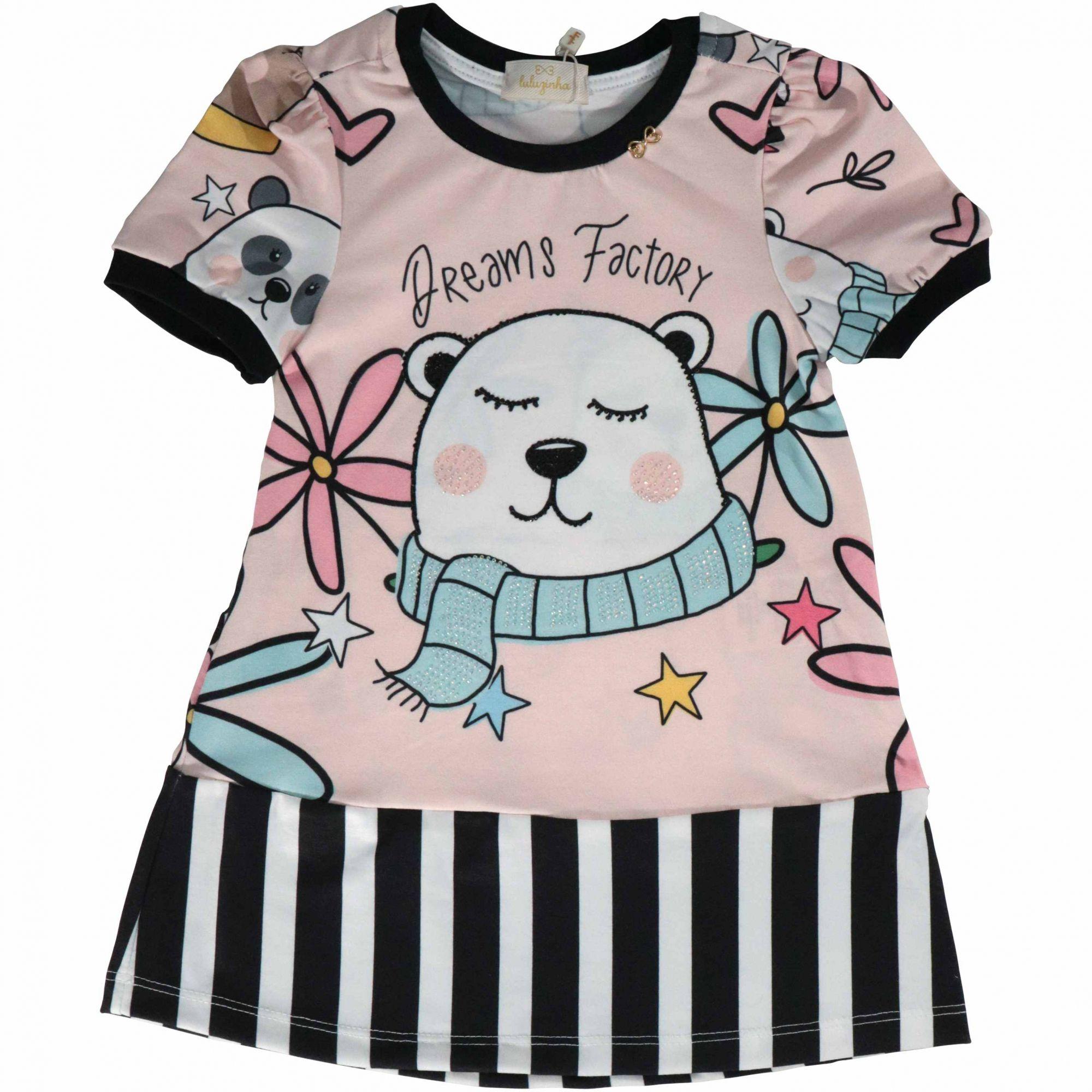 Vestido Panda Luluzinha