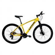 Bicicleta Cairu A29 17.5 Lotus Amarela