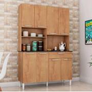 Kit Cozinha Tannat Prime 08 Portas - Castanho