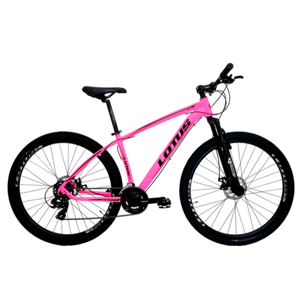 Bicicleta Cairu A29 17.5 Lotus Rosa
