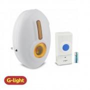 CAMPAINHA SEM FIO G-LIGHT C/ PLUG 32 TOQUES
