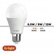 LAMPADA LED A60 G-LIGHT 6,5W BF 100/220V