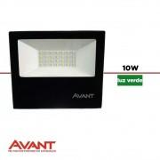 LED REFLETOR SLIM AVANT 30W LUZ VERDE BIV