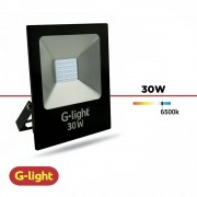 REFLETOR LED LUZ BRANCA G-LIGHT 30W BIV
