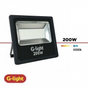 REFLETOR LED LUZ BRANCA G-LIGHT 200W BIV