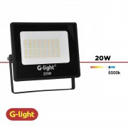 REFLETOR LED LUZ BRANCA G-LIGHT 20W