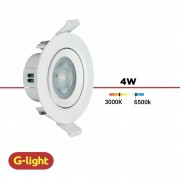 SPOT LED EMBUTIR REDON. G-LIGHT 4W