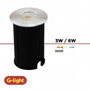 SPOT LED SOLO LUZ QUENTE G-LIGHT 3W / 6W