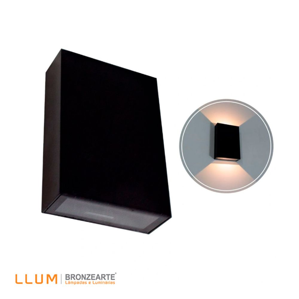 ARANDELA LED BRONZEARTE SENSITIVE 4W 3000K