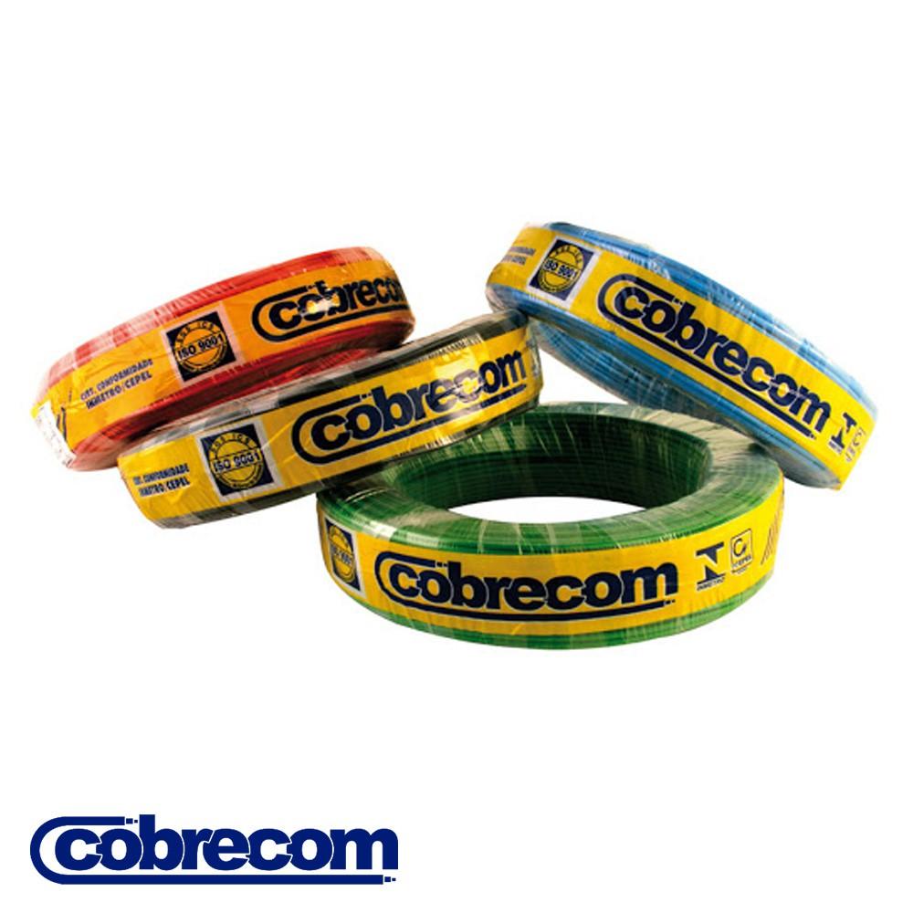 CABO FLEXICOM ANTICHAMA COBRECOM 100 METROS 1,00MM2 450/750V