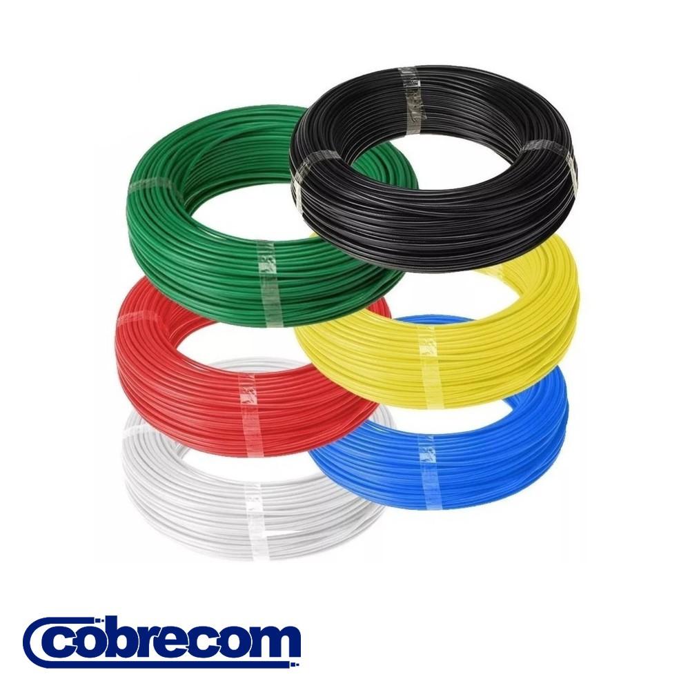 CABO FLEXICOM ANTICHAMA COBRECOM 100 METROS 4,00MM2 450/750V