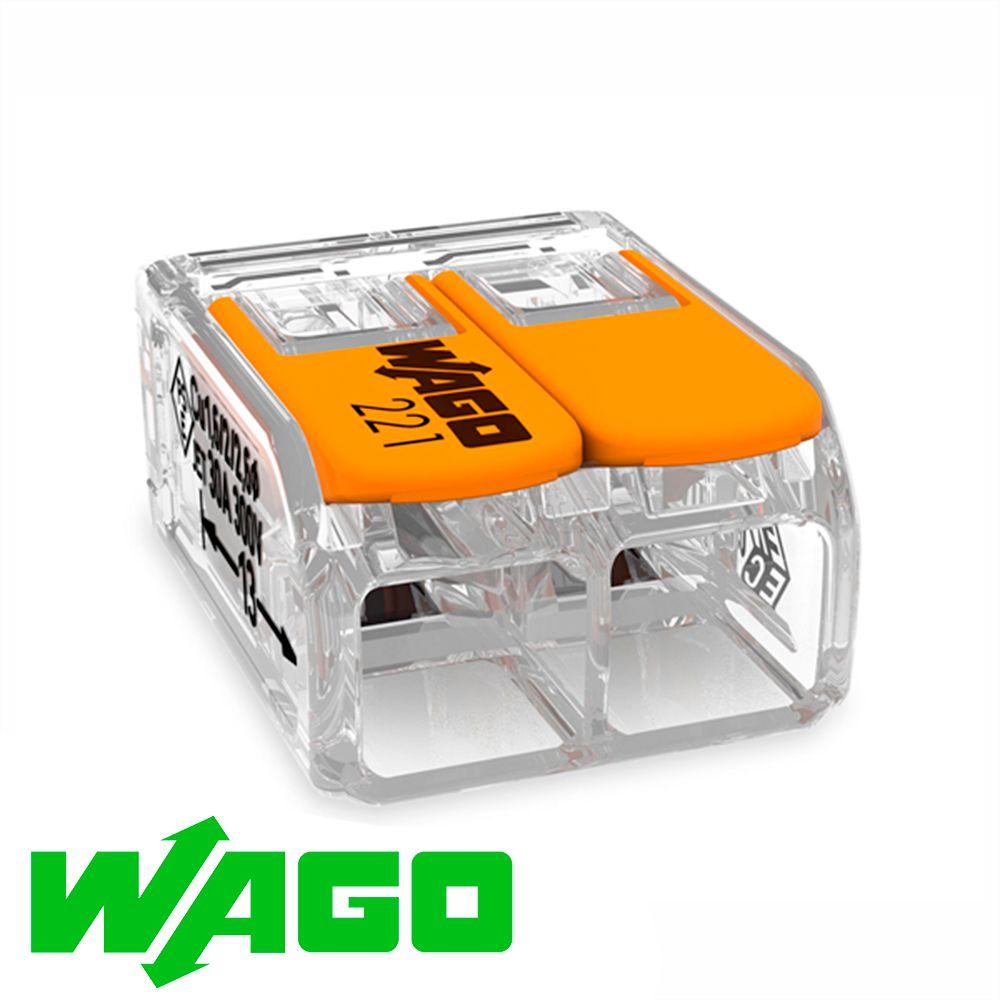 CONECTOR AUTOMÁTICO WAGO 221-612 2X6MM