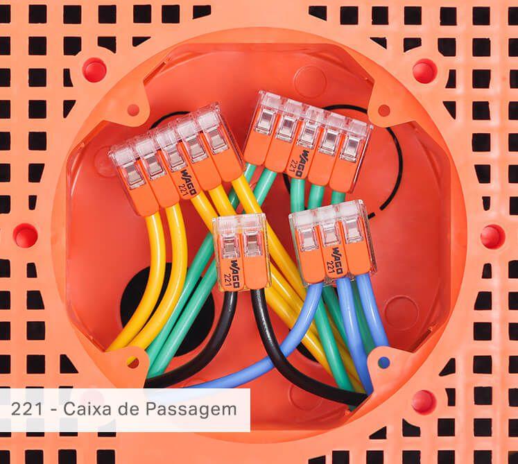 CONECTOR AUTOMÁTICO WAGO 221-615 5X6MM