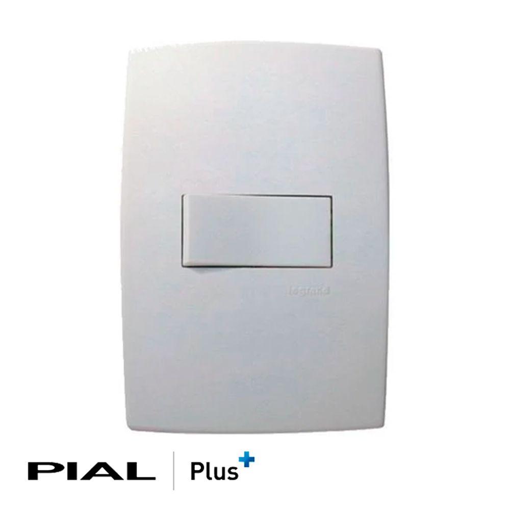 INTERRUPTOR PIAL PLUS+ 1 PARALELO BR 611111