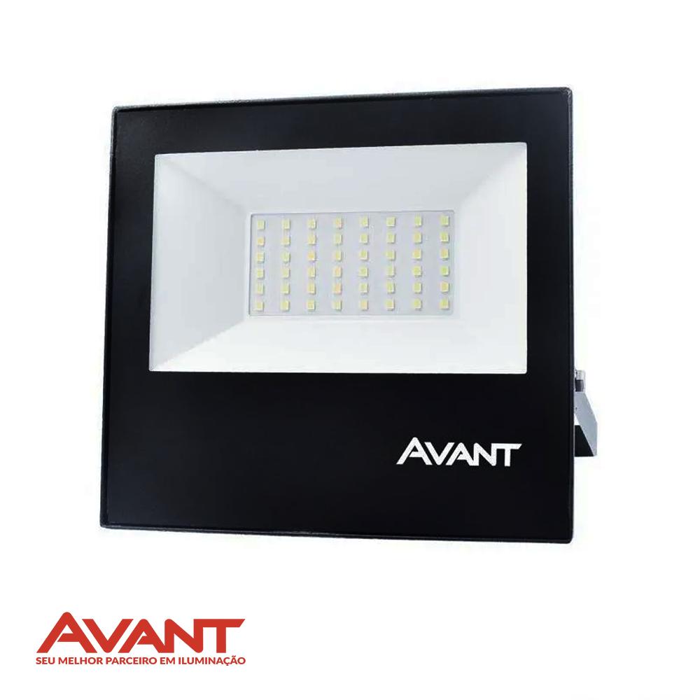 REFLETOR LED AVANT 50W BRANCO FRIO BIV 1372