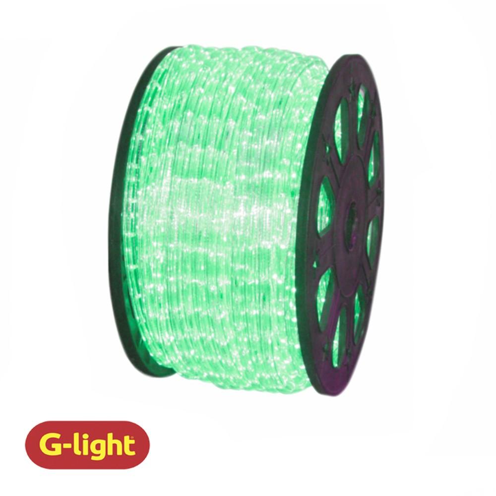 MANGUEIRA LED ILUMINADA 2F VERDE 220V - G-LIGHT