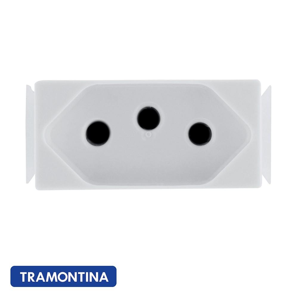 MÓDULO ARIA PARA TOMADA 2P+T TRAMONTINA 20A 250V