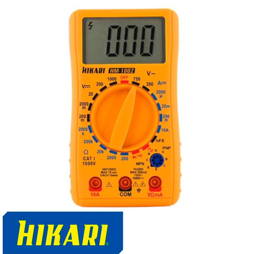 MULTIMETRO DIGITAL HM-1002