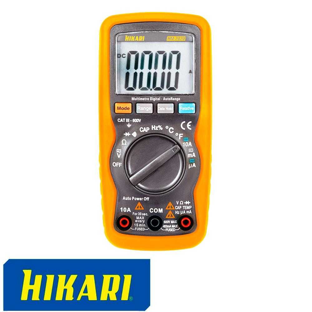 MULTIMETRO DIGITAL HM-2020