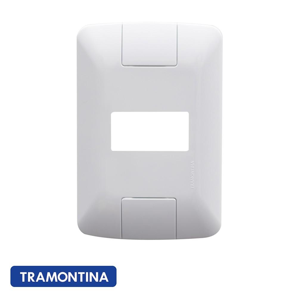PLACA ARIA 1 POSTO HORIZONTAL 4X2 TRAMONTINA - 57203004