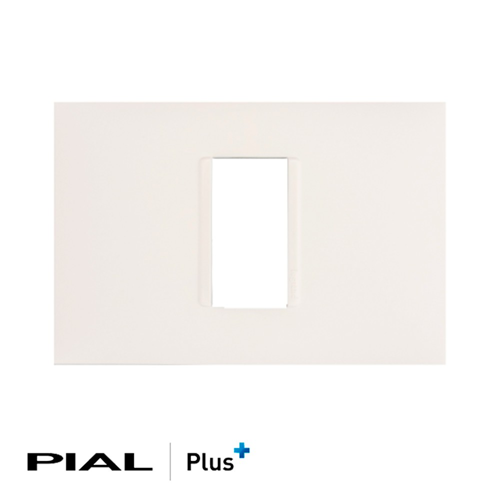 PLACA 1 POSTO 4X2 VERTICAL PIAL PLUS 618501
