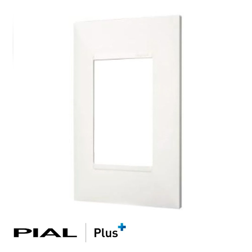 PLACA 3 POSTOS 4X2 PIAL PLUS - 618503