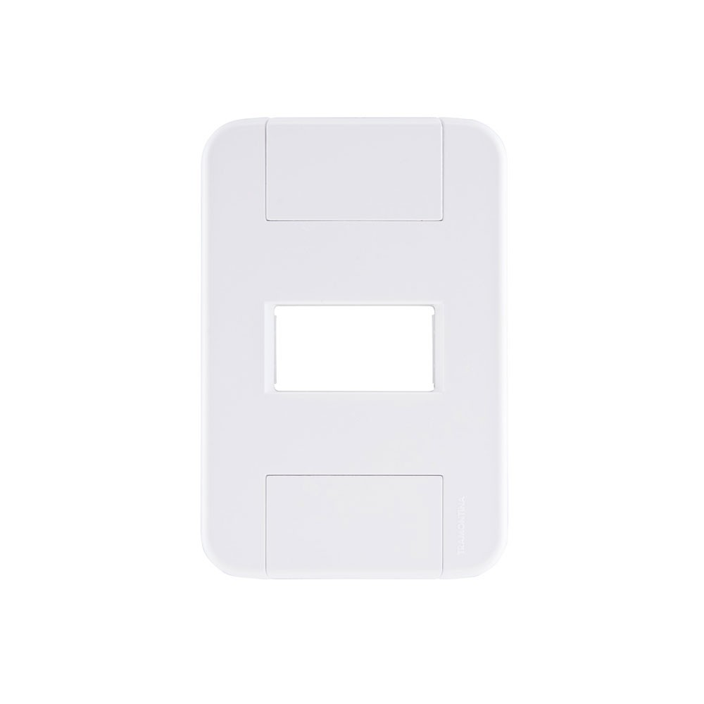 PLACA TABLET 1POSTO HORIZO 4X2 57201/004 TRAMONTINA