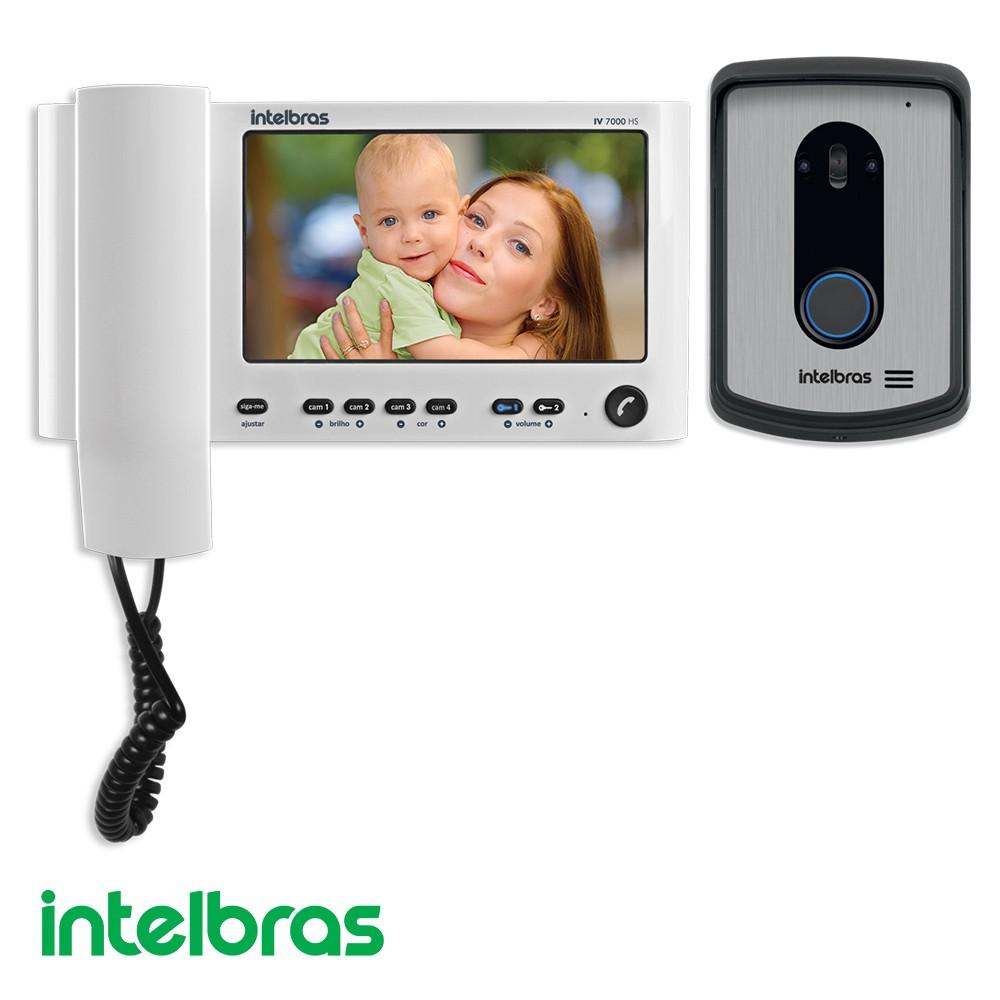 PORTEIRO ELETRONICO C/ VIDEO INTELBRAS IV7010 HS
