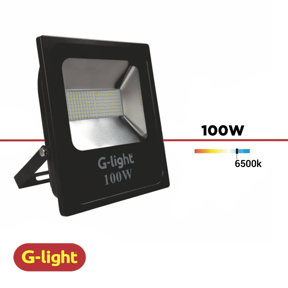 REFLETOR LED LUZ BRANCA G-LIGHT 100W BIV