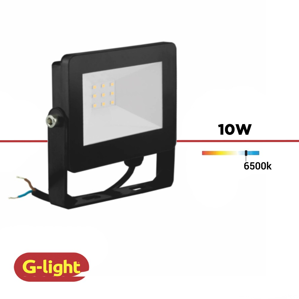 REFLETOR LED LUZ BRANCA G-LIGHT 10W BIV