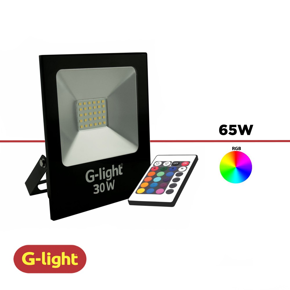 REFLETOR LED G-LIGHT 30W RBG BIVOLT