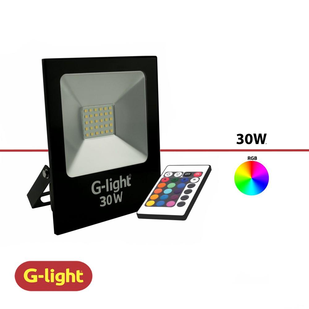 REFLETOR LED LUZ RBG G-LIGHT 30W BIV