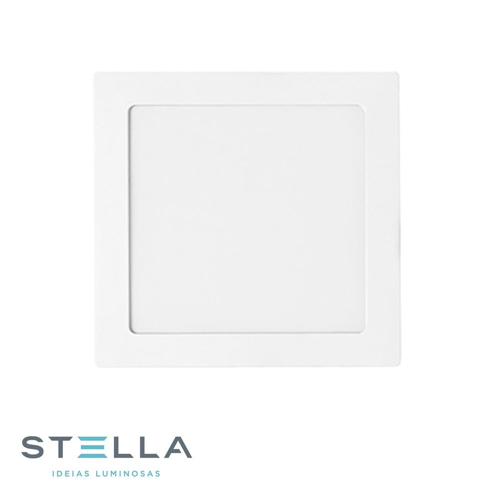 PAINEL LED EMBUTIR QUADR. STELLA 12W STH9952Q/65