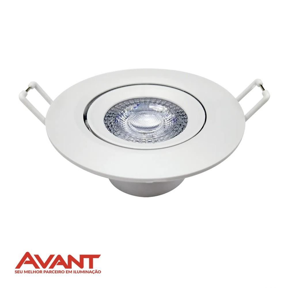 SPOT LED EMBUTIR REDON. AVANT 3W 1378
