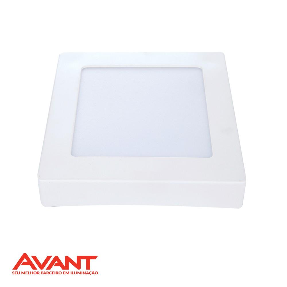 PAINEL LED POP SOBREPOR QUADRA. AVANT 18W/24W