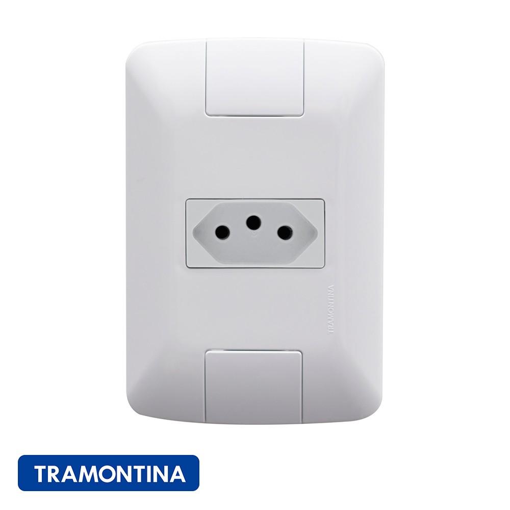 TOMADA ARIA TRAMONTINA 10A/250V